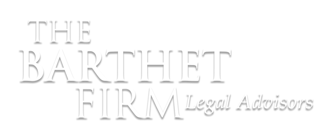 barthet white logo homepage hero